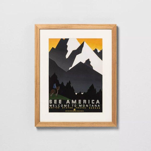 national park print