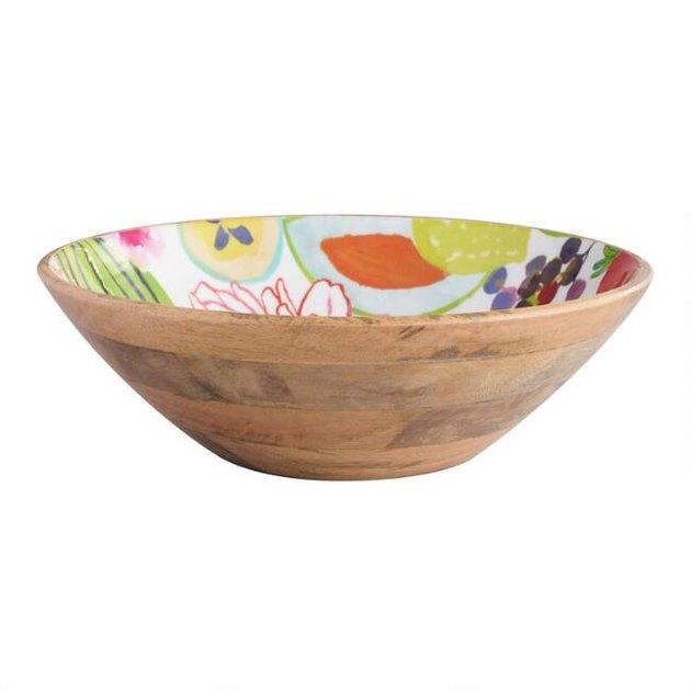 santiago wood bowl