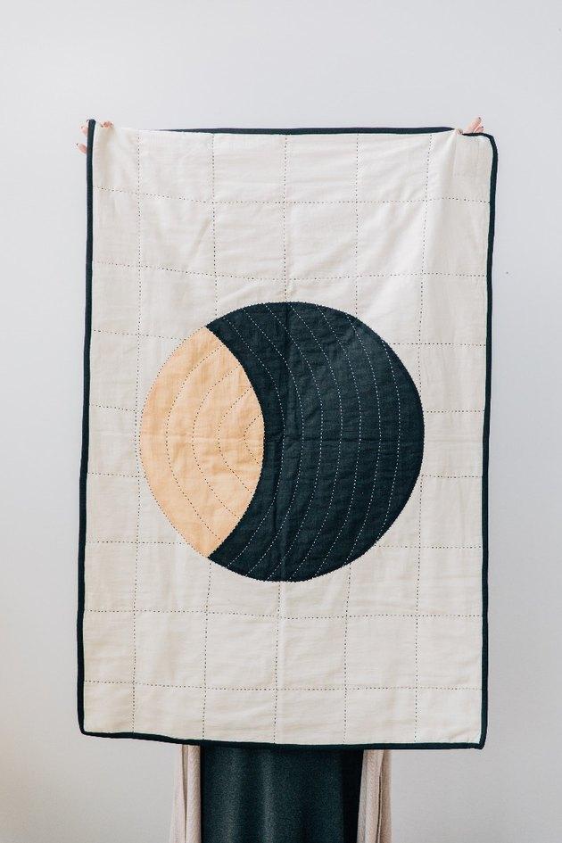 Small Crescent Quilt, $120