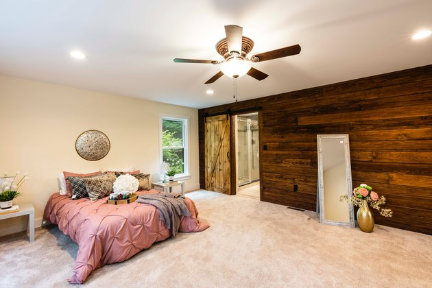 barn basement door ideas in basment with wood panels