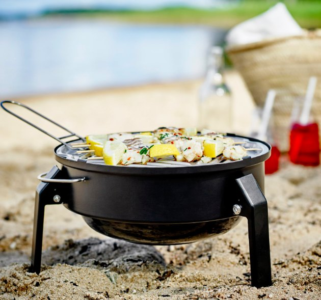 Portable Charcoal Grill ikea