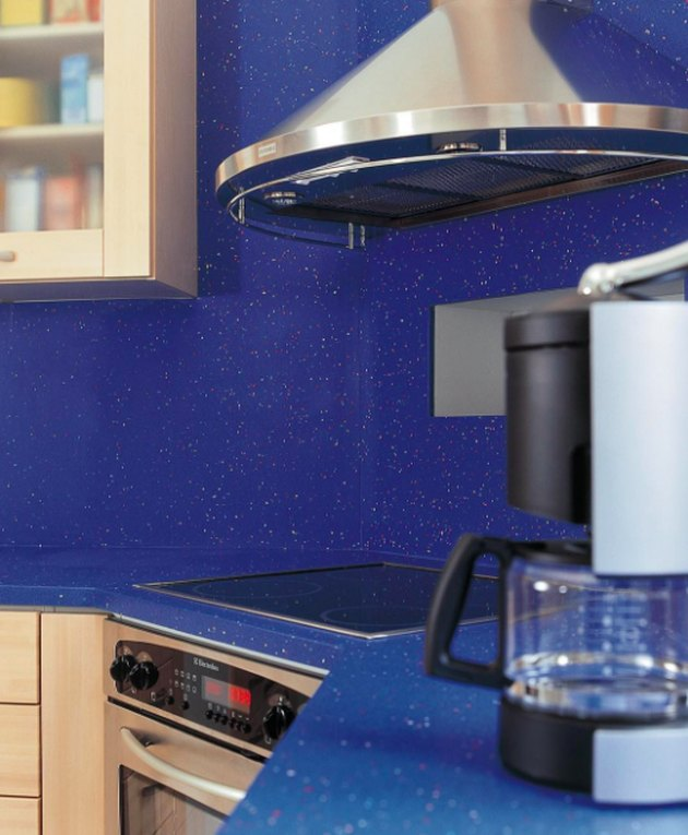 recycled plastic countertop