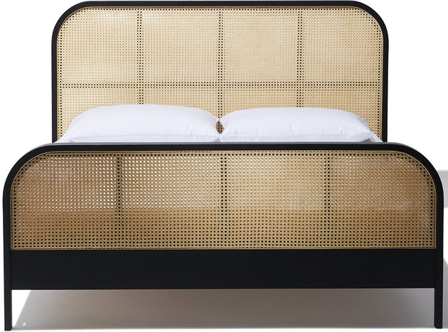 Cane King Bed, $3,600