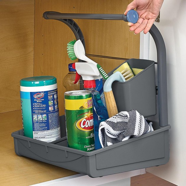 under the sink storage caddy