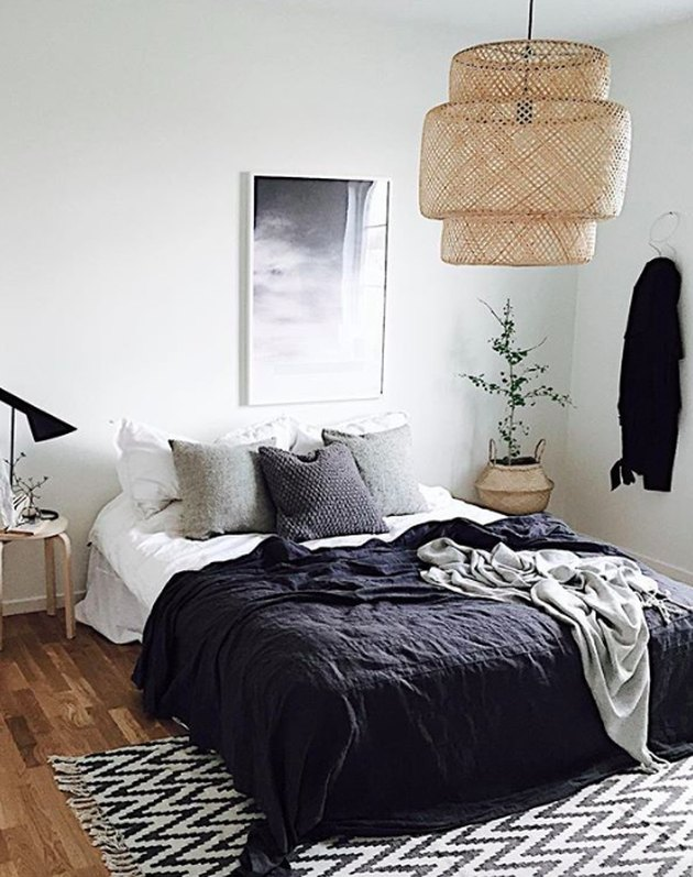 casual boho bedroom