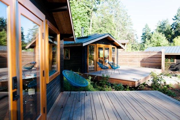 Updated cabins at Bodega Cove.