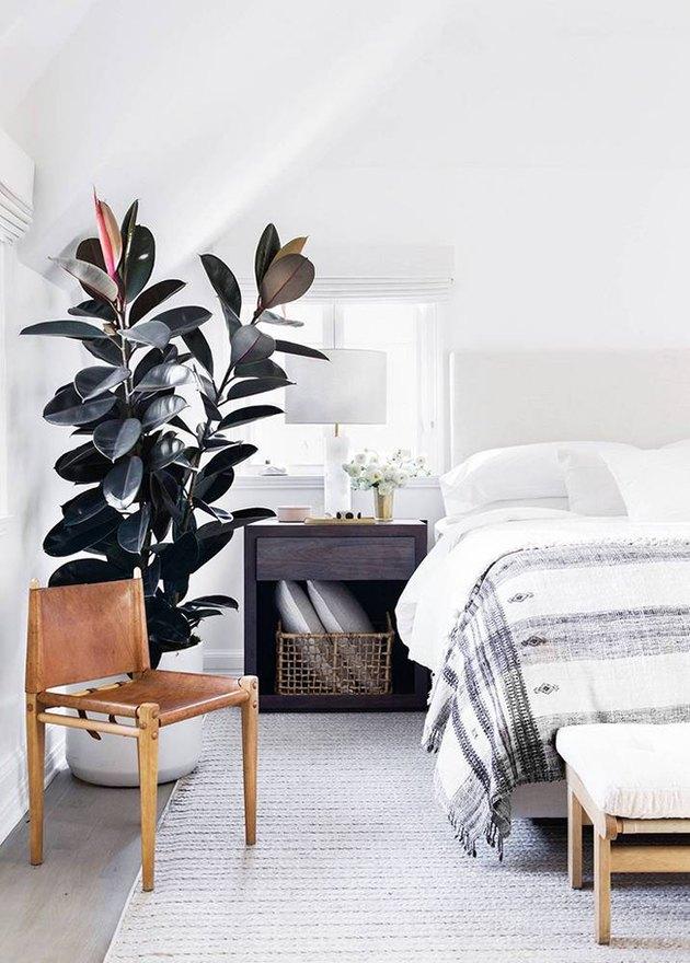 modern minimalist boho bedroom