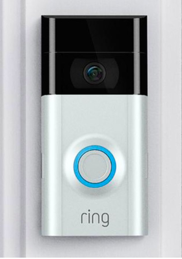 Wireless doorbell with camera.
