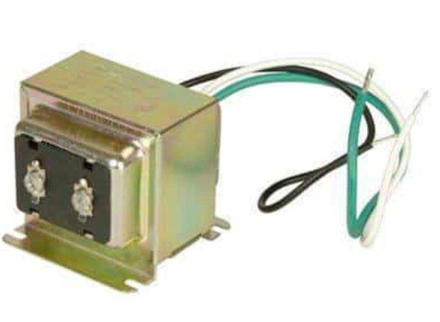 A 16V, 30W doorbell transformer.