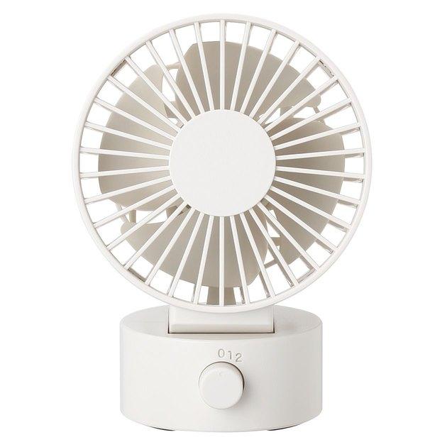 Muji Low Noise USB Desk Fan, $20.65