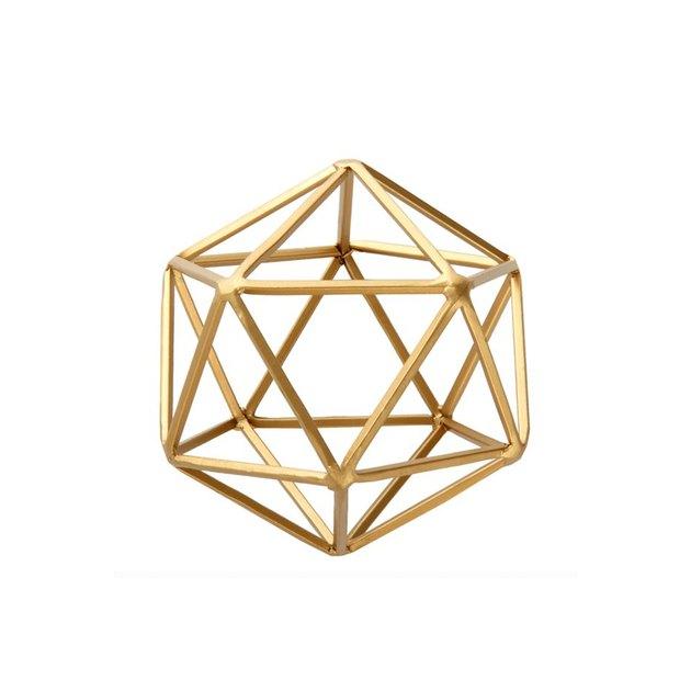 walmart geometric sculpture