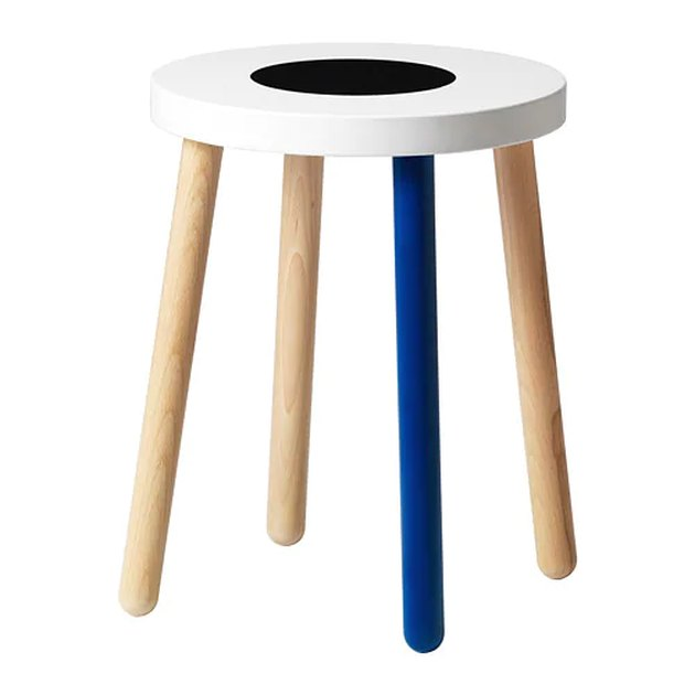multicolored stool
