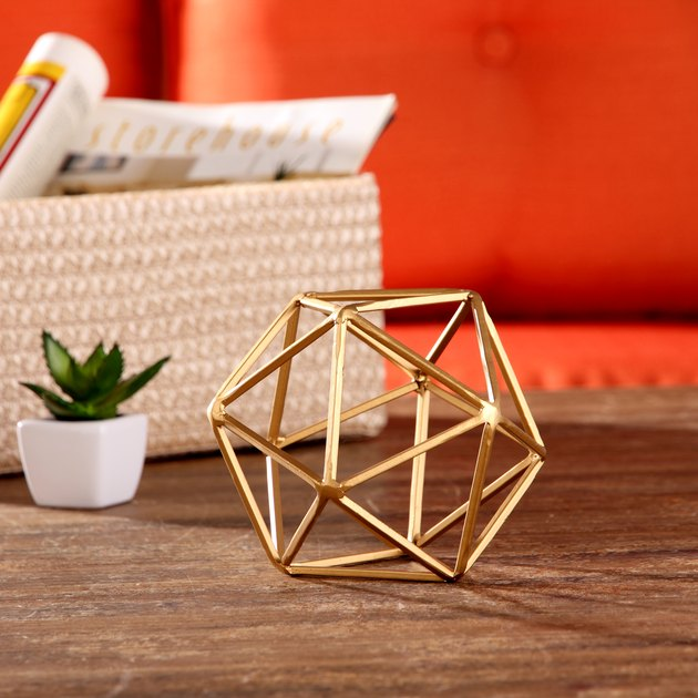 walmart tabletop geometric sculpture