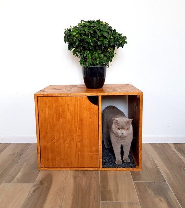 Cat Litter Box Cover