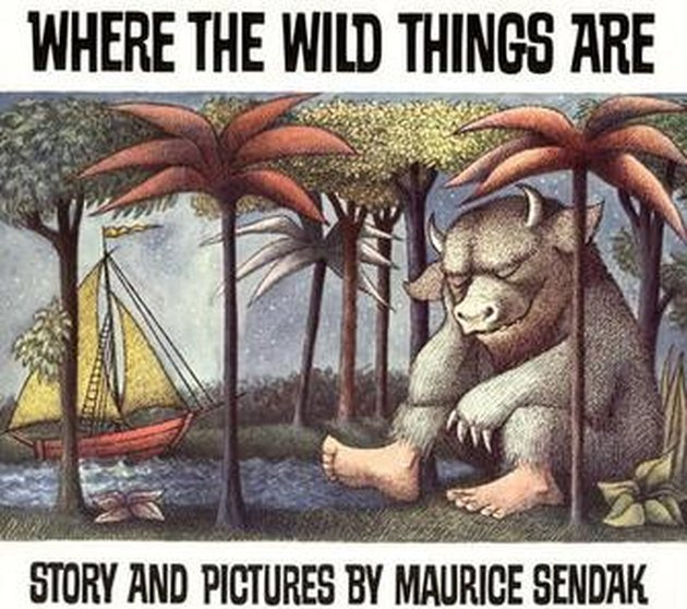 Cover of Maurice Sendak's 1963 book Where the Wild Things Are.