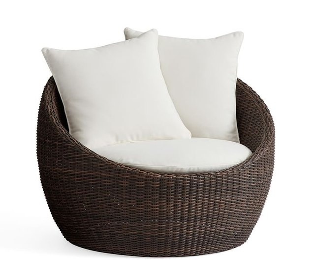 Pottery Barn - Torrey All-Weather Wicker Papasan Chair