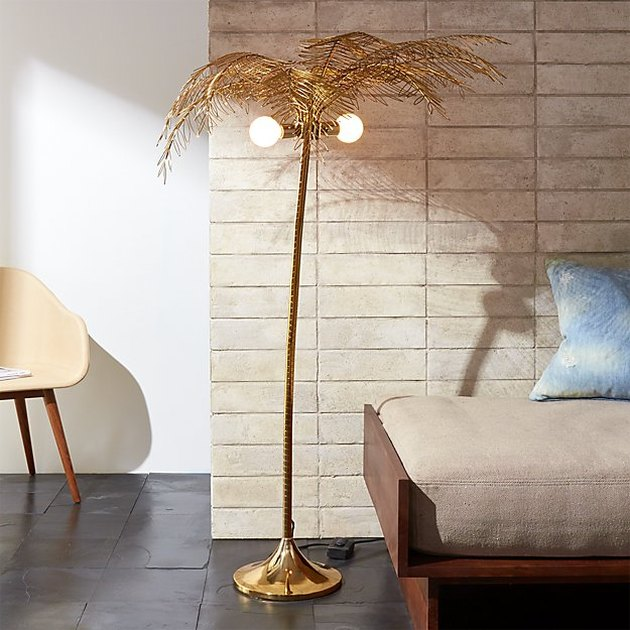 CB2 Ocean Palm Floor Lamp