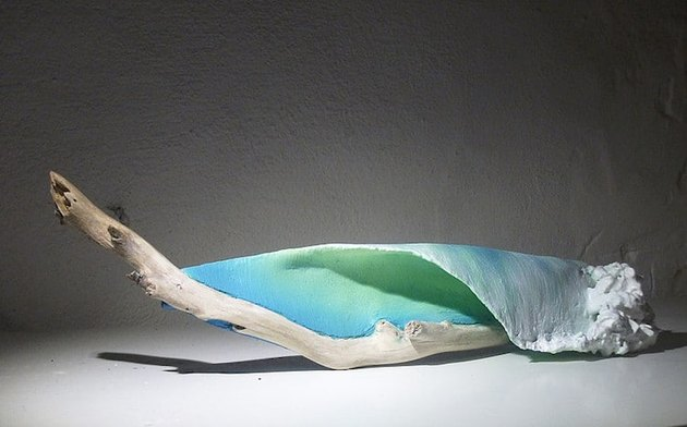 Waves by Johny Gypsum Sculptures
