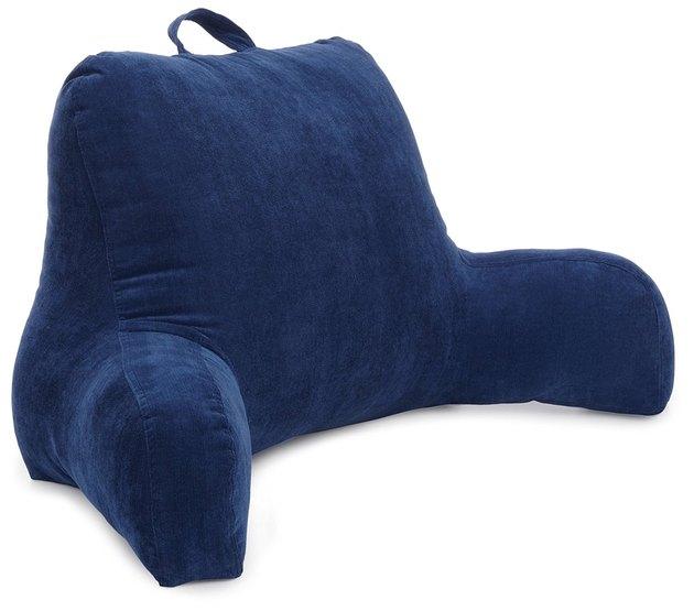 blue boyfriend pillow