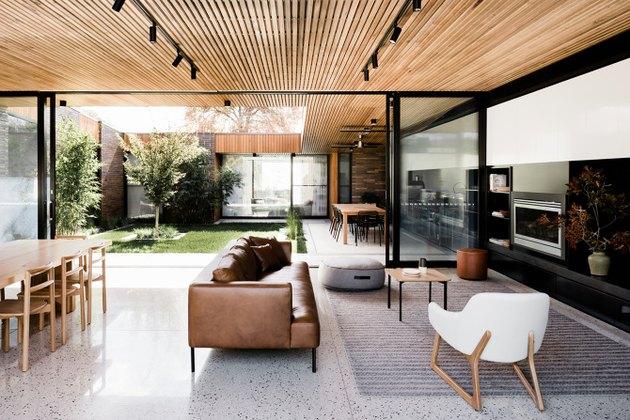 living room terrazzo floor