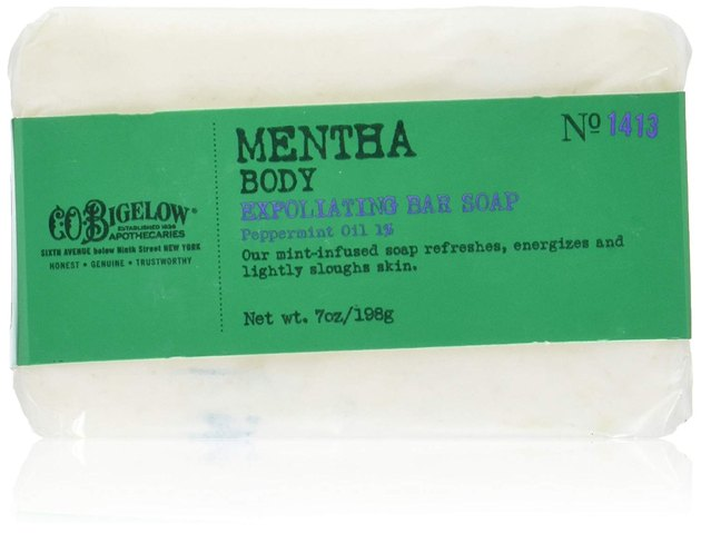 C.O. Bigelow Mentha Exfoliating Body Soap, $12.56