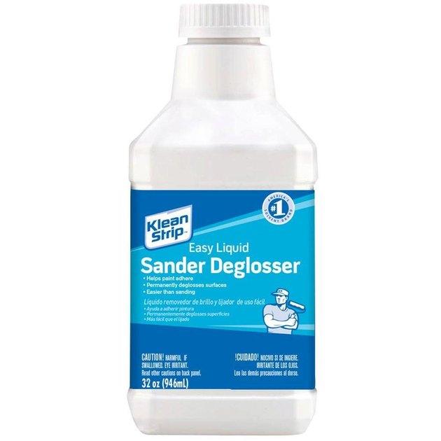 Bottle of liquid deglosser
