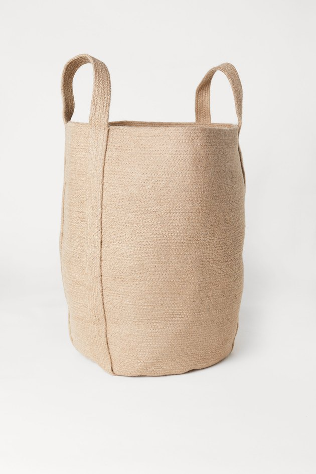 H&M Jute Laundry Bag, $34.99