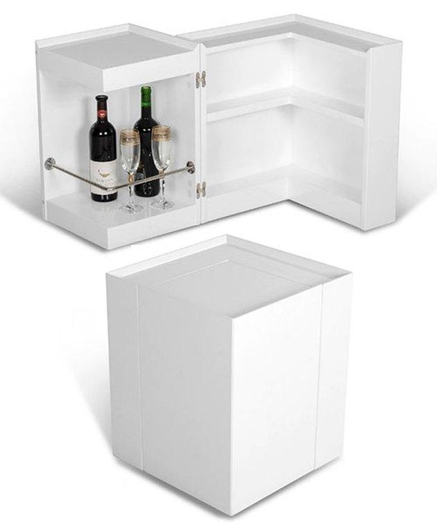 Modrest Modern White End Table