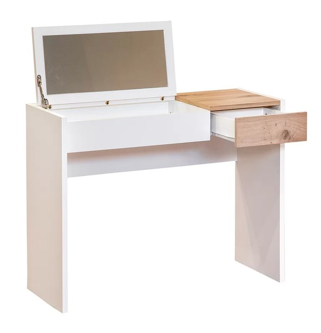 Parisot Fougueuse Writing Desk With Mirror