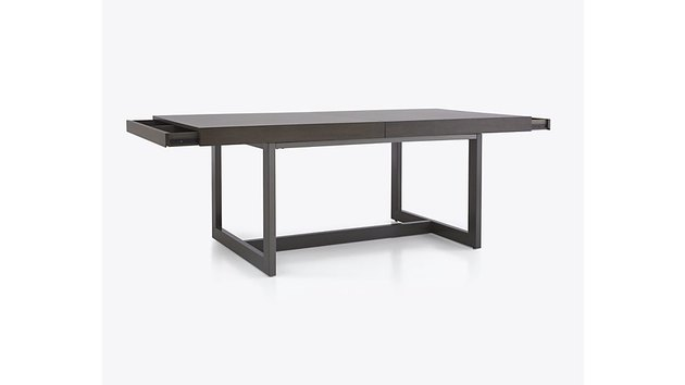 Crate & Barrel Archive Extension Storage Dining Table