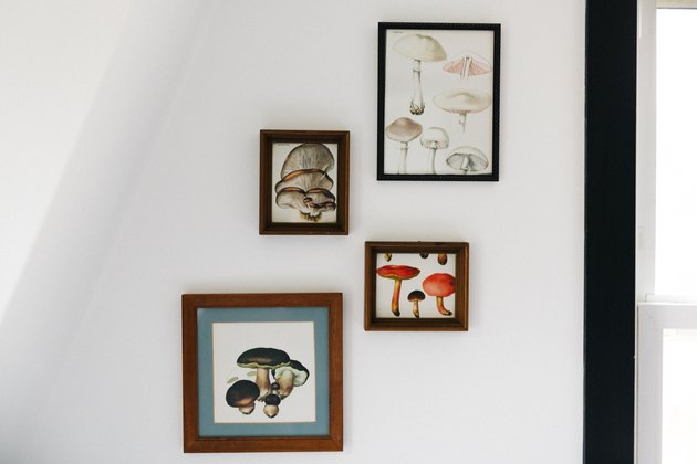 eastwind hotel guest room gallery wall