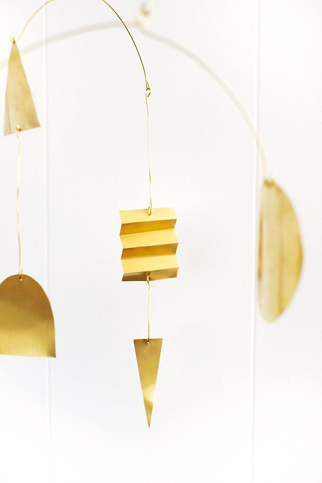 DIY Brass Mobile