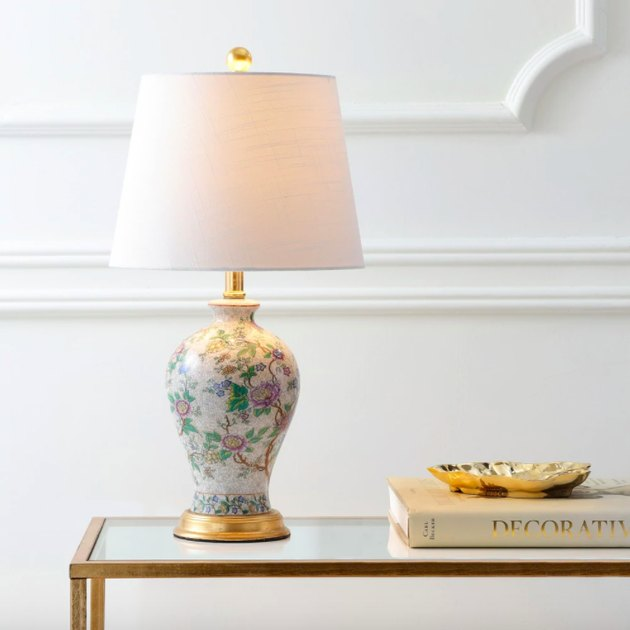 Jonathan Y Grace Floral LED Table Lamp