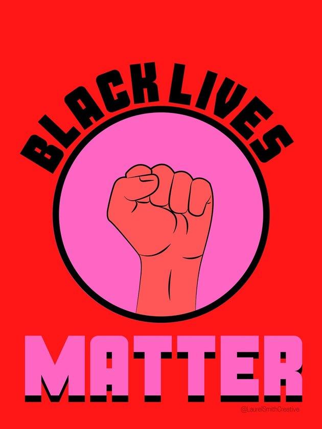 Laurel Smith Creative Black Lives Matter Digital Download, $6