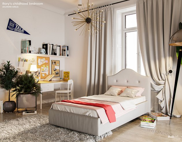 child's bedroom in neutrals