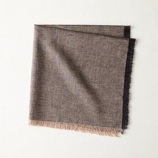cb2 linen napkin