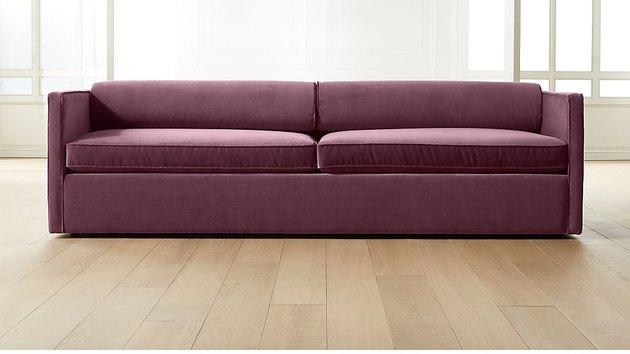 Cassidy Bolster Back Velvet Sofa, $1,899