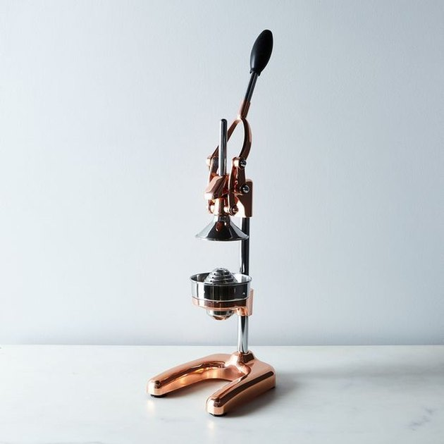 copper citrus press