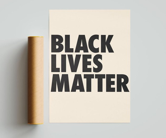 Riverwaystudios Black Lives Matter Poster, $6-$19