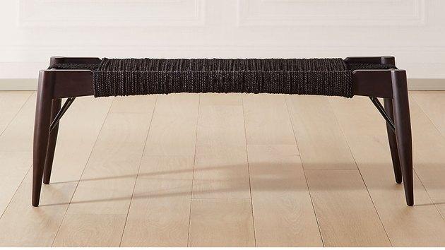 Wrap Black Bench, $399