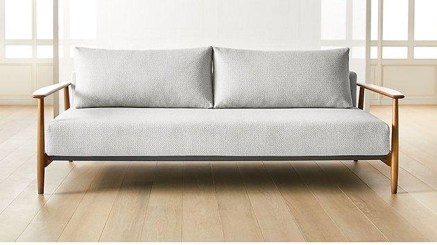 cb2 una sleeper sofa