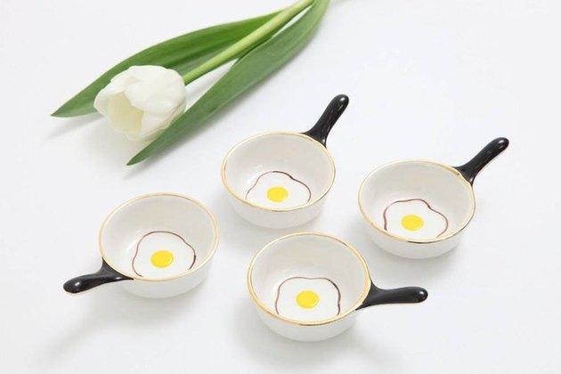 egg pan bowls