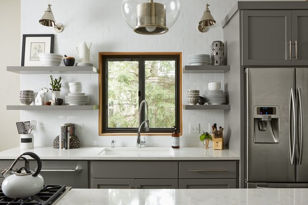 Chelsea Gray cabinets