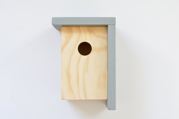 Bird house made of wood