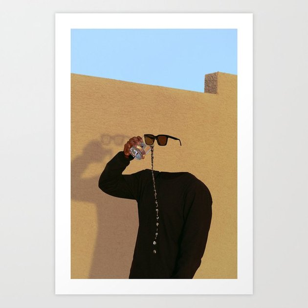 A Thirst That Can't Be Satisfied Art Print home decor black owned