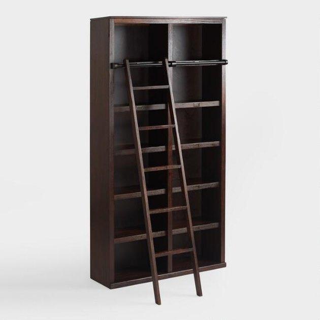 Espresso Augustus Library Bookshelf