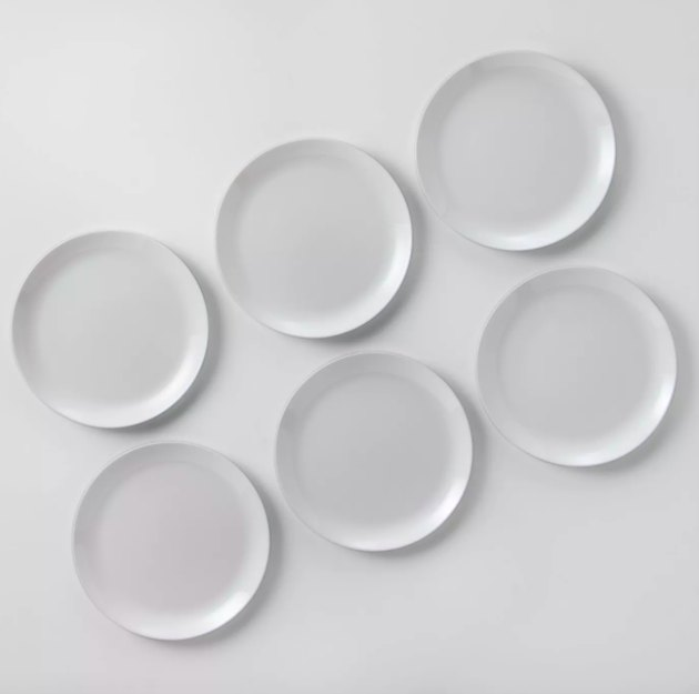Made by Design Glass Dinnerplates (set of six), $17