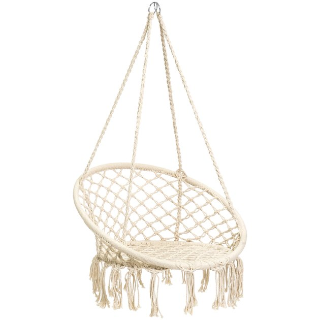rope hammock with tassels