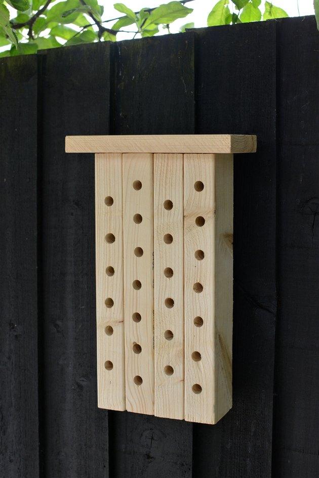 Modern Wood Bee House