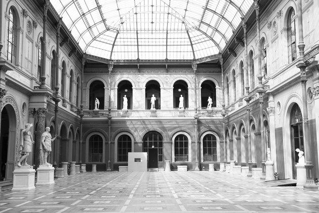 Palais des Étude Courtyard